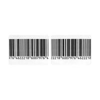 Защитная радиочастотная этикетка 3х4 см., деактивируемая, рулон 1000шт, штрих-код оптом