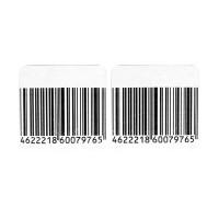 Защитная радиочастотная этикетка 5х5 см., деактивируемая, рулон 1000шт, штрих-код оптом