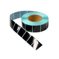 Защитная радиочастотная этикетка 4х4 см.,черная, рулон 1000шт оптом