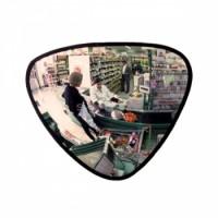 Зеркало обзорное для помещений трёхугольное 330х330х380 оптом