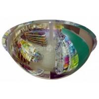 Обзорное зеркало для помещений сферическое купольное O800мм оптом