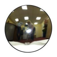 Зеркало для помещений круглое O 900мм оптом