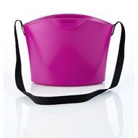 Покупательская корзина SHOPHIE - 15 L, пурпурная, с плечевым ремнем оптом