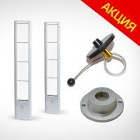 Комплект защиты от краж магазина (радиочастотная антенна + 500 бутылочных датчиков + съёмник) оптом